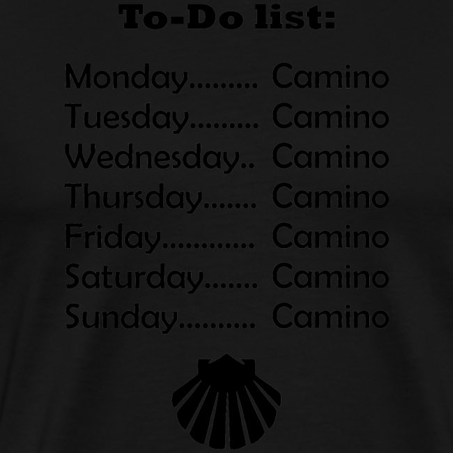 To-do list: Camino