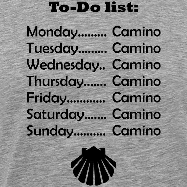 To-do list: Camino