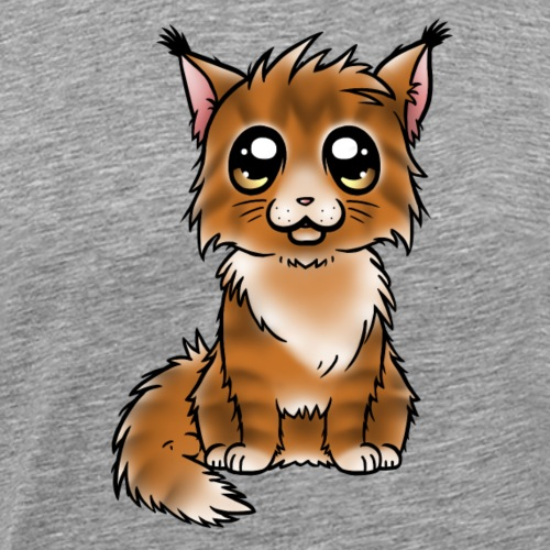 Maine Coon - Red Tabby - T-shirt Premium Homme