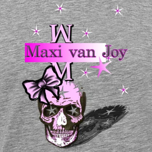 skull.female.maxi van joy - Men's Premium T-Shirt