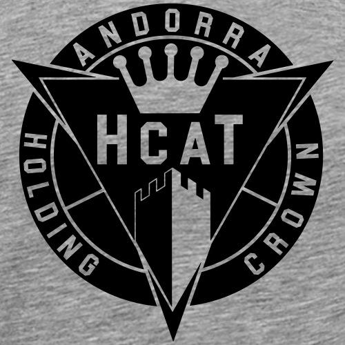 hcat unicolor - Camiseta premium hombre