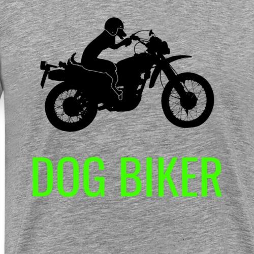 lustiger coller dog biker - Männer Premium T-Shirt
