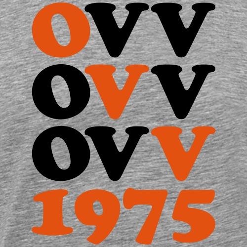 OVV Quadrat 2farbig - Männer Premium T-Shirt
