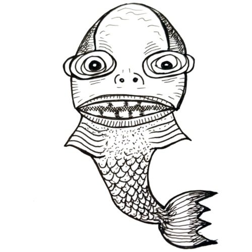 FishyThing - T-shirt Premium Homme