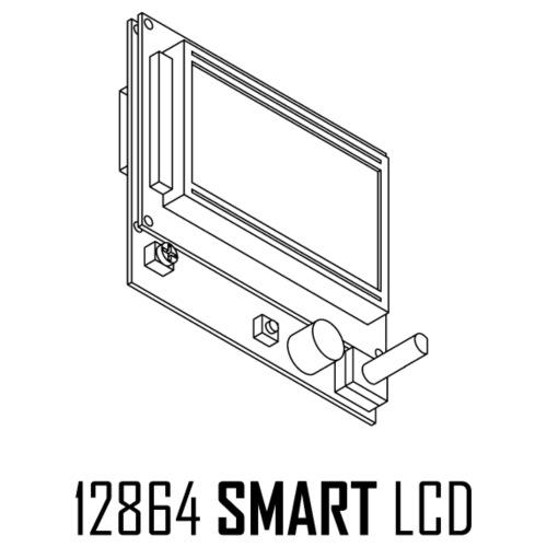 12864 Smart LCD - Men's Premium T-Shirt