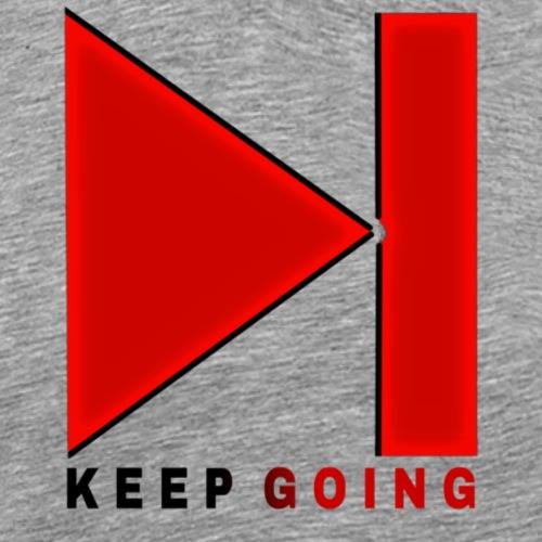 KEEP GOING - T-shirt Premium Homme