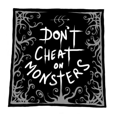 Dontcheatonmonsters_icon - Maglietta Premium da uomo