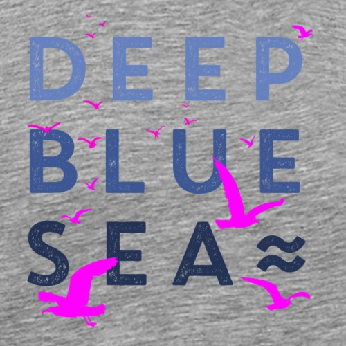 Deep Blue Sea - Männer Premium T-Shirt