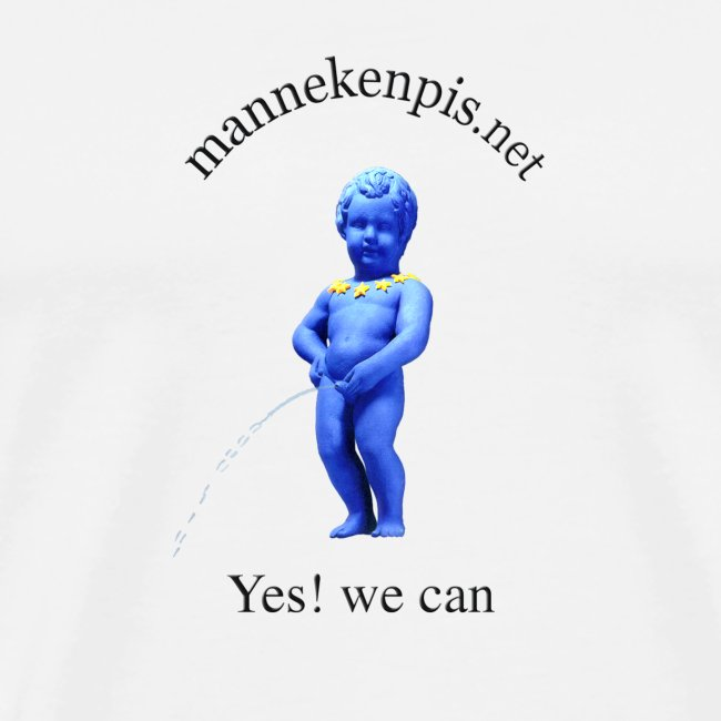 YES WE CAN ♀♂ | manneken pis