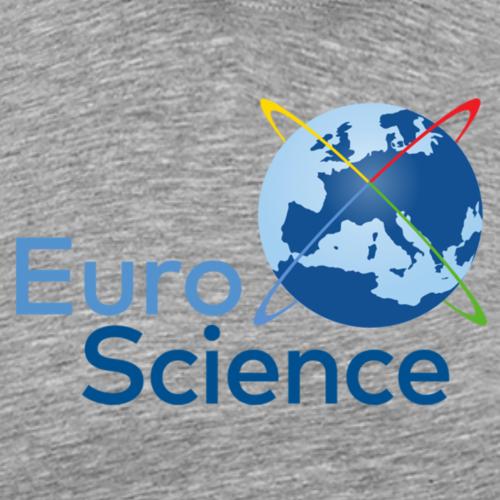 EuroScience logo - blue - Men's Premium T-Shirt