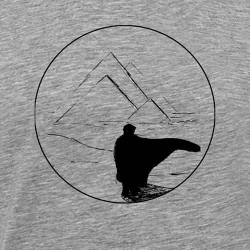 black desert - T-shirt Premium Homme