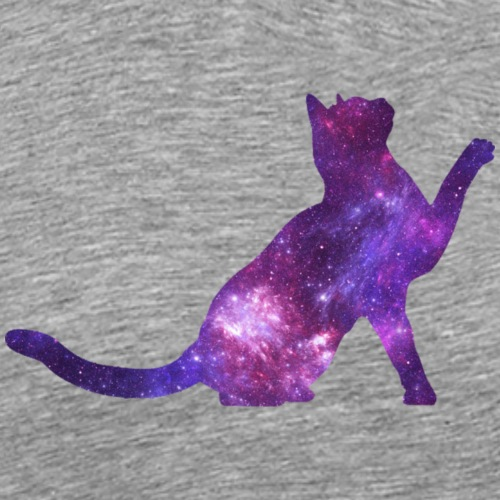 Spacecat - Männer Premium T-Shirt
