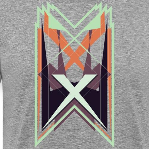 Geométrico - Camiseta premium hombre