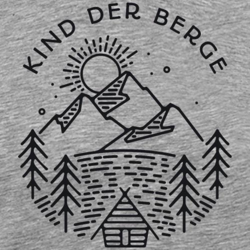 kind der berge - Männer Premium T-Shirt