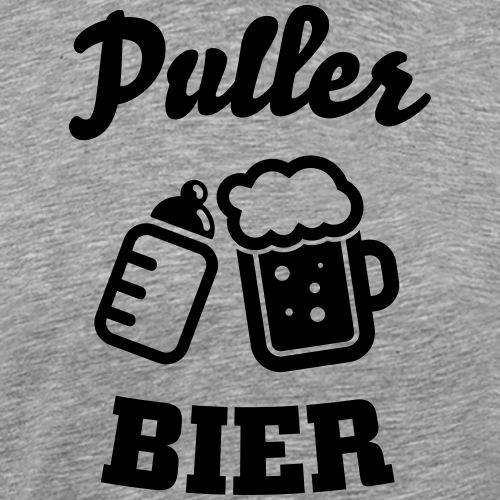 Puller Bier - Männer Premium T-Shirt