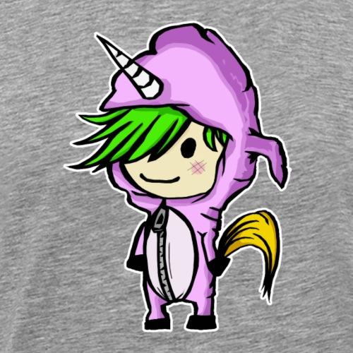 Unicorn-Kid - Männer Premium T-Shirt