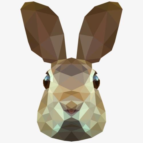 Polygon Rabbit - Koszulka męska Premium