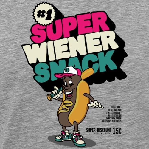 superwienersnack - Mannen Premium T-shirt