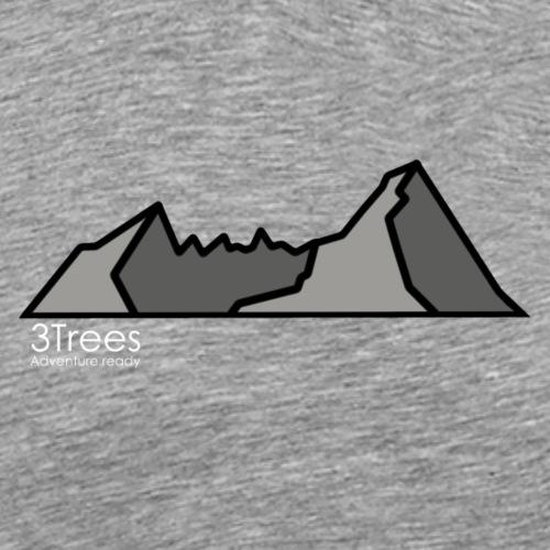 Mountains - Männer Premium T-Shirt