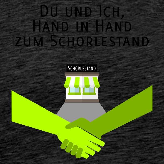 Hand in Hand zum Schorlestand