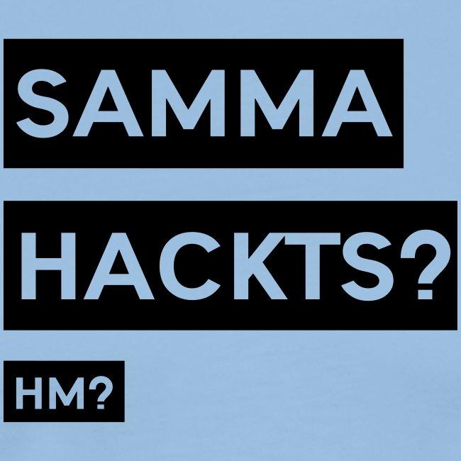 Samma Hackts ft1 (Spruch)