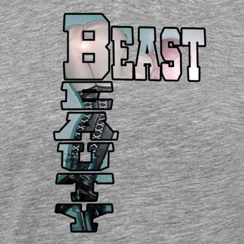 BEAST AND BEAUTY - T-shirt Premium Homme