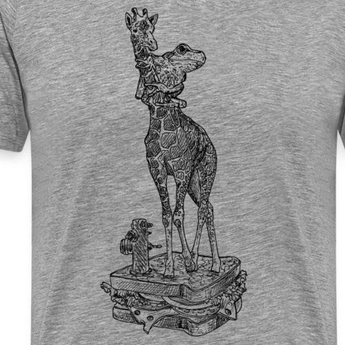 Giraffensandwich - Männer Premium T-Shirt