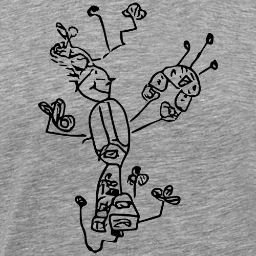 Flugmann_001 - Männer Premium T-Shirt