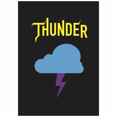 Thunder Jaune - T-shirt Premium Homme