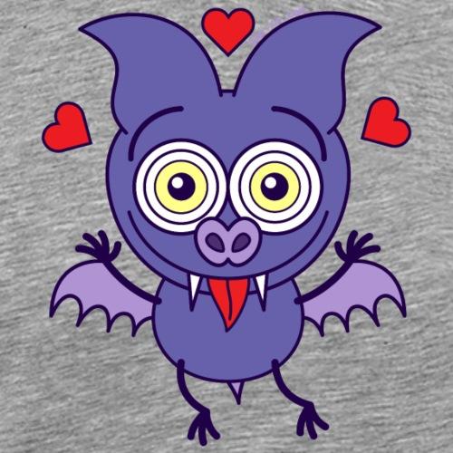 Bat feeling madly in love - Men's Premium T-Shirt