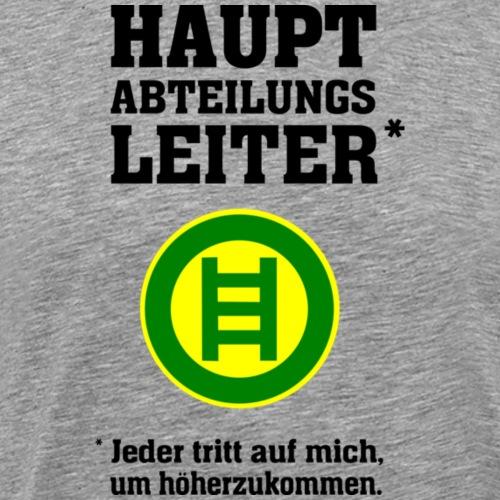 Hauptabteilungsleiter - Männer Premium T-Shirt