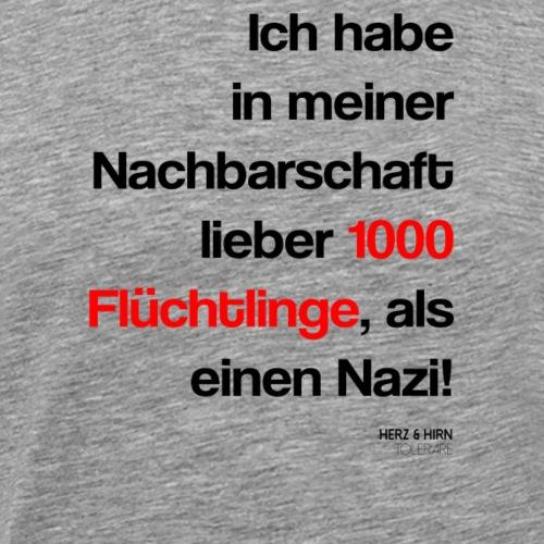 flüchtlinge2 - Männer Premium T-Shirt