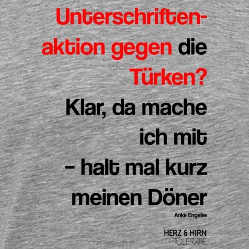türken2 - Männer Premium T-Shirt