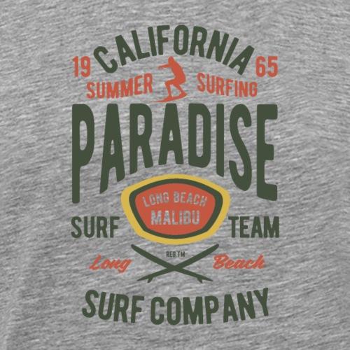 Surferparadies im kalifornischen Sommer - Männer Premium T-Shirt