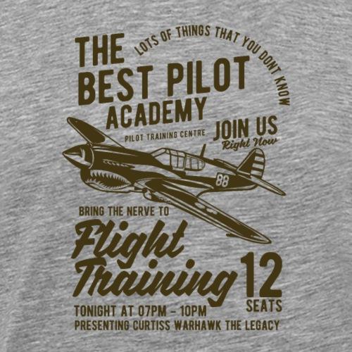 Formation de vol - T-shirt Premium Homme
