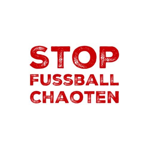 Stop Fussball Chaoten - Männer Premium T-Shirt