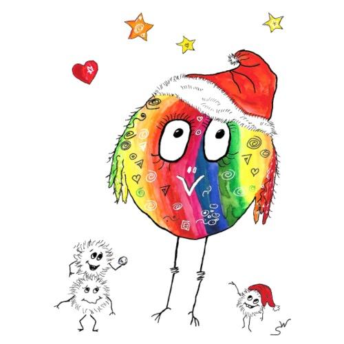 Happy Weihnachtskugelbird - Männer Premium T-Shirt