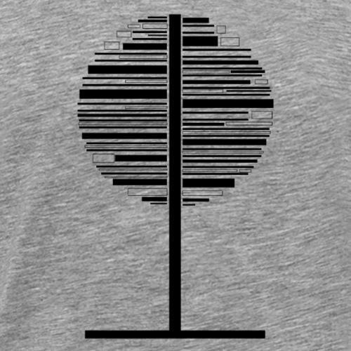 tre - Premium T-skjorte for menn