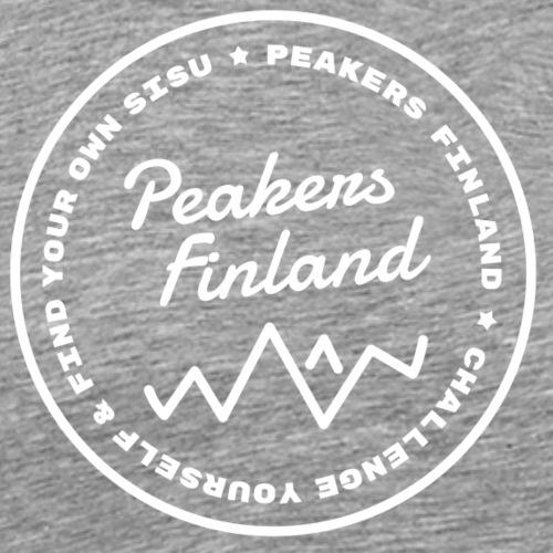 peakers finland nega - Miesten premium t-paita