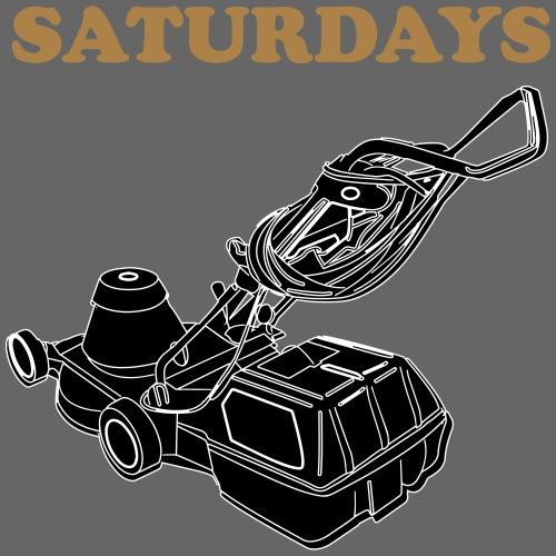 Saturdays Lawnmower - Men's Premium T-Shirt