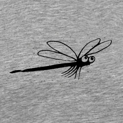 Lustige Tiere Libelle - Männer Premium T-Shirt