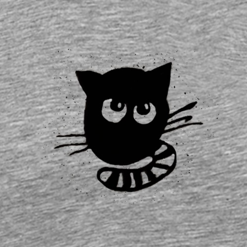 Lustige Tiere Katze - Männer Premium T-Shirt