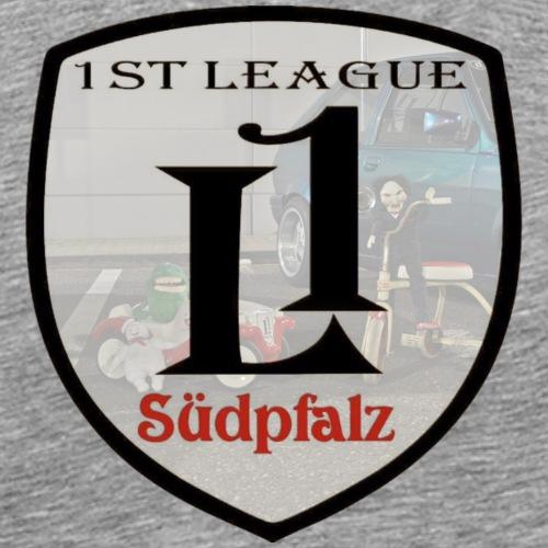 1st League Logo Bobbycar und Dreirad - Männer Premium T-Shirt