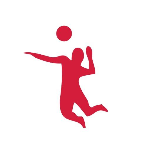 Volleyballplayer - Männer Premium T-Shirt