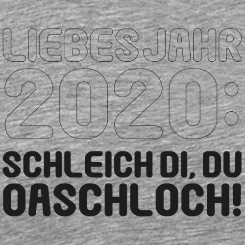 Liebes Jahr 2020 ... - Männer Premium T-Shirt