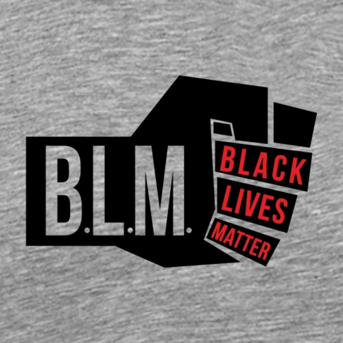 PROTEST BLACK LIVES - Mannen Premium T-shirt