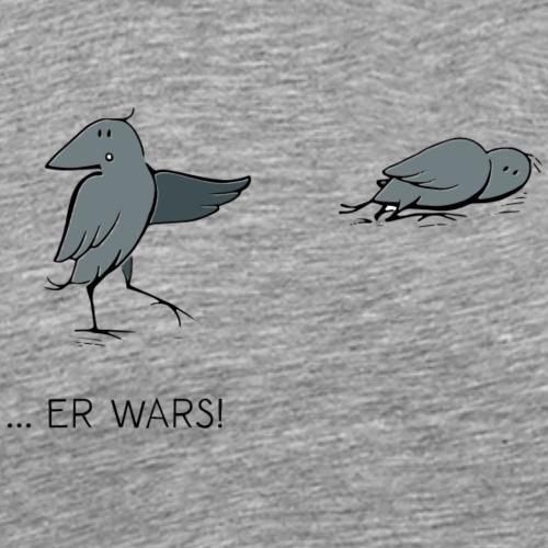 Urbane Krähe er wars! - Männer Premium T-Shirt
