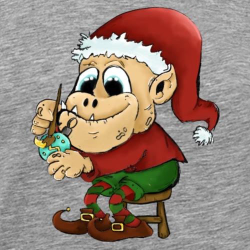 Lutin de Noël - T-shirt Premium Homme