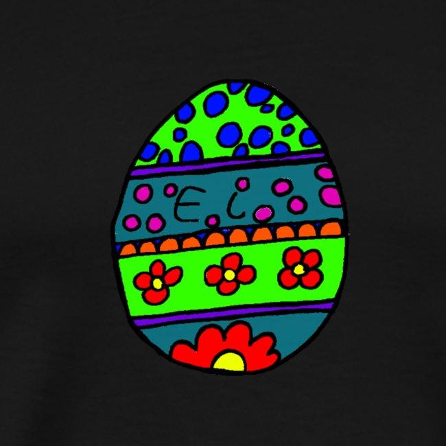 Oster ei bunte farben