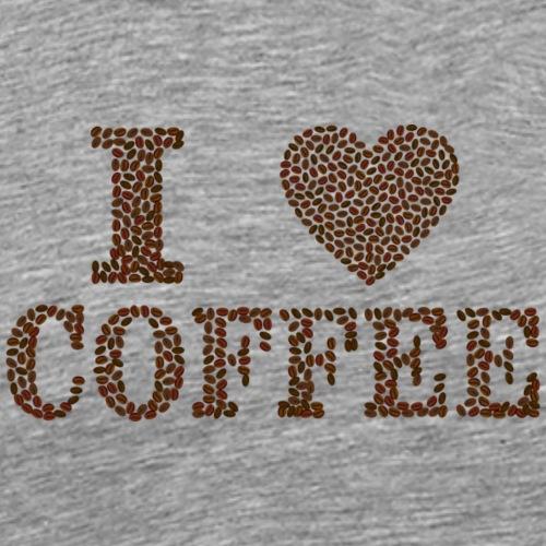 I love Coffee! - Männer Premium T-Shirt